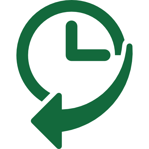 004-navigation-history-interface-symbol-of-a-clock-with-an-arrow